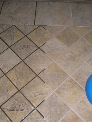 Elegant Grout And Tile Before And After