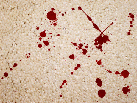 Halloween Tip How To Remove Blood Stains From Carpeting